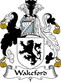 English Coat of Arms for Wakeford