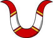 Horns-Chevron Cottised
