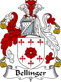 English Coat of Arms for Bellinger