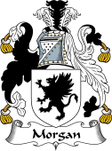 English Coat of Arms for Morgan II (Wales)