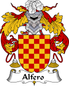 Portuguese Coat of Arms for Alfero