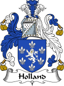 English Coat of Arms for Holland