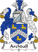 Irish Coat of Arms for Archdall or Archdale