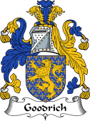 English Coat of Arms for Goodrich