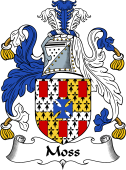 English Coat of Arms for Moss
