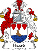 English Coat of Arms for Heard or Herd