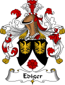 German Wappen Coat of Arms for Ediger