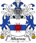 Italian Coat of Arms for Albanese