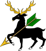 Stag Trip Holding Arrow