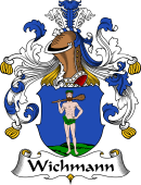 German Coat of Arms for Wichmann