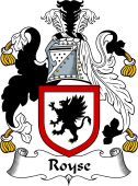 English Coat of Arms for Royse