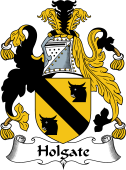 English Coat of Arms for Holgate