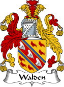 English Coat of Arms for Walden