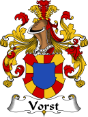 German Coat of Arms for Vorst