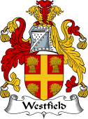 English Coat of Arms for Westfield