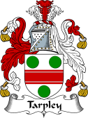 English Coat of Arms for Tarpley