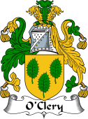 Irish Coat of Arms for O'Clery