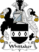 English Coat of Arms for Whittaker