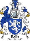 Irish Coat of Arms for Balle