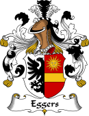 German Wappen Coat of Arms for Eggers