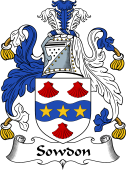 English Coat of Arms for Sowdon