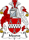 English Coat of Arms for Meares