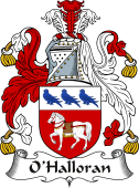 Irish Coat of Arms for O'Halloran