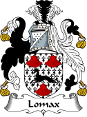 English Coat of Arms for Lomax