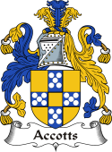 Irish Coat of Arms for Accotts