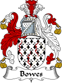 English Coat of Arms for Bowes
