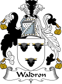 English Coat of Arms for Waldron II