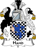 Irish Coat of Arms for Hand