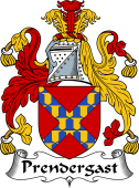 Irish Coat of Arms for Prendergast II