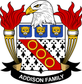 American Coat of Arms for Addison
