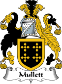 English Coat of Arms for Mullett