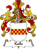 German Wappen Coat of Arms for Kalle
