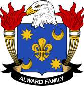 American Coat of Arms for Alward