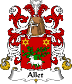 Coat of Arms from France for Allet