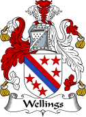 English Coat of Arms for Wellings
