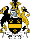 English Coat of Arms for Rushbrook