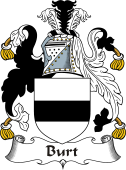 Irish Coat of Arms for Birt or Burt