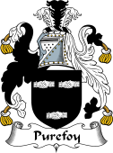 English Coat of Arms for Purefoy