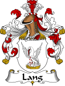 German Wappen Coat of Arms for Lang