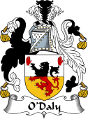 Irish Coat of Arms for O'Daly or Dawley