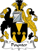 English Coat of Arms for Poynter