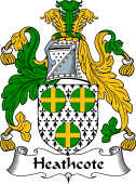 English Coat of Arms for Heathcote