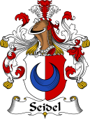 German Coat of Arms for Seidel