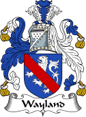English Coat of Arms for Wayland