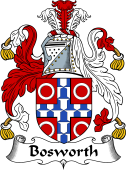 English Coat of Arms for Bosworth