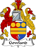 English Coat of Arms for Gowland